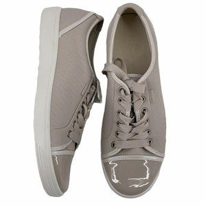 ECCO Soft 7 Patent Leather Cap Toe Casual Sneakers